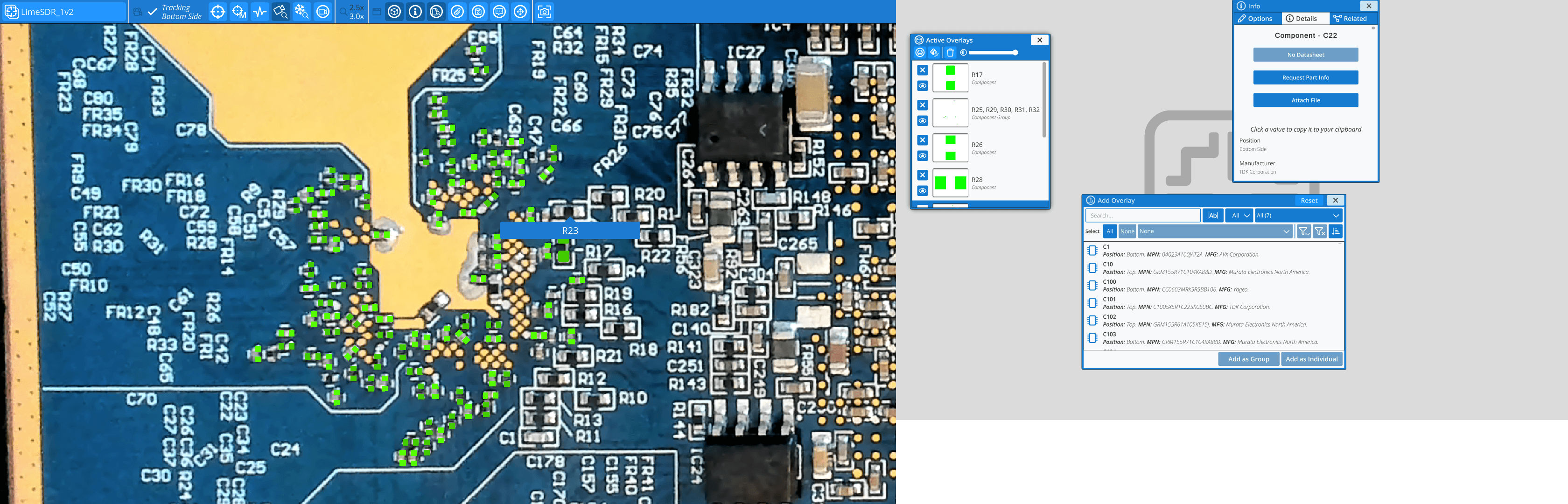 Blogpost inspectAR aids assembly, debug, and rework of PCBs