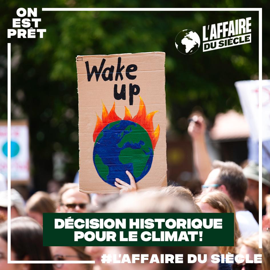 Décision Historique pour le climat