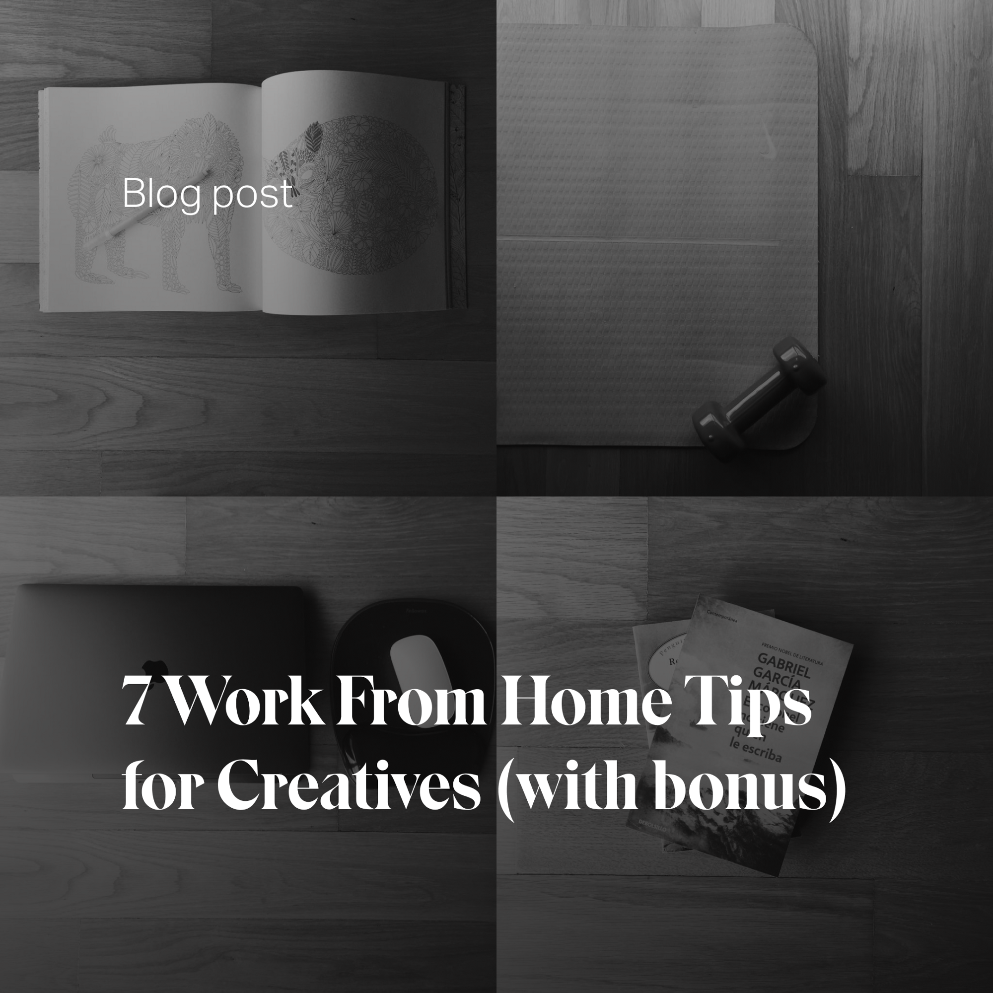 7 Work From Home Tips for Creatives (with bonus)