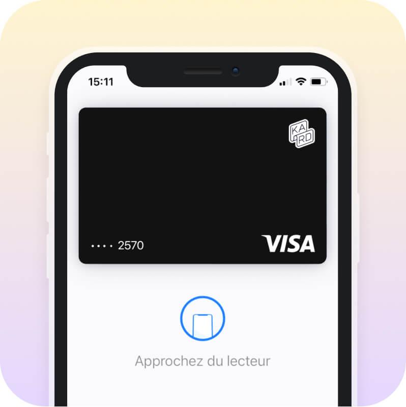 Kard dans l'Apple Wallet