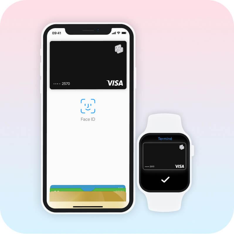 Les appareils compatibles avec Apple Pay