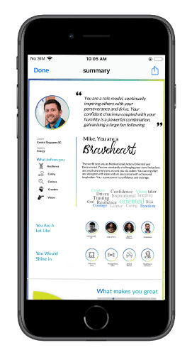 WERYZ |  Personal Branding App for leadership and high management