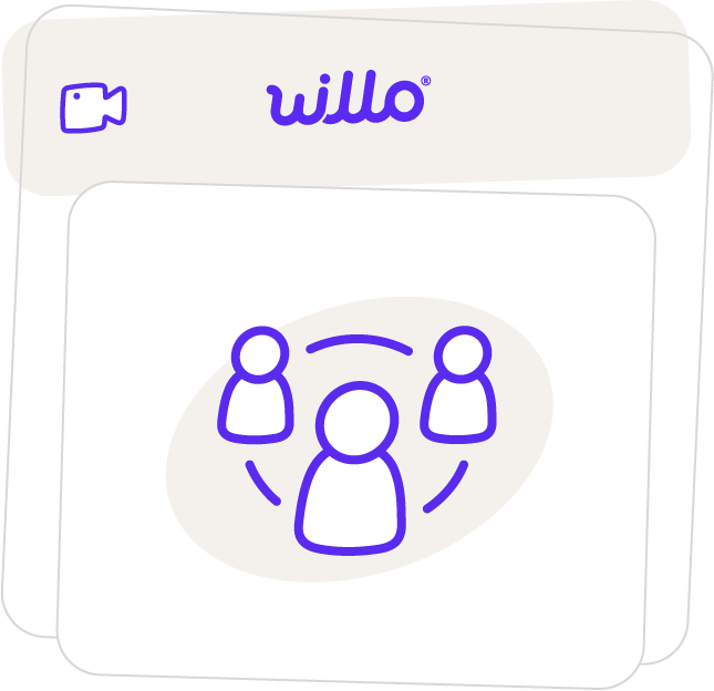 Step 4 of how Willo works