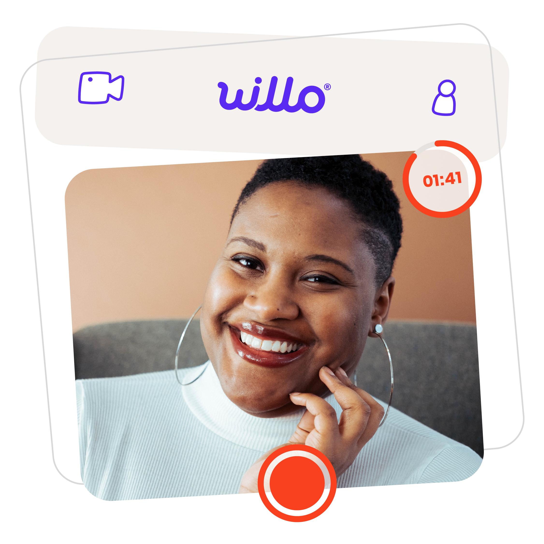 Happy Black Girl on Willo Video Interview
