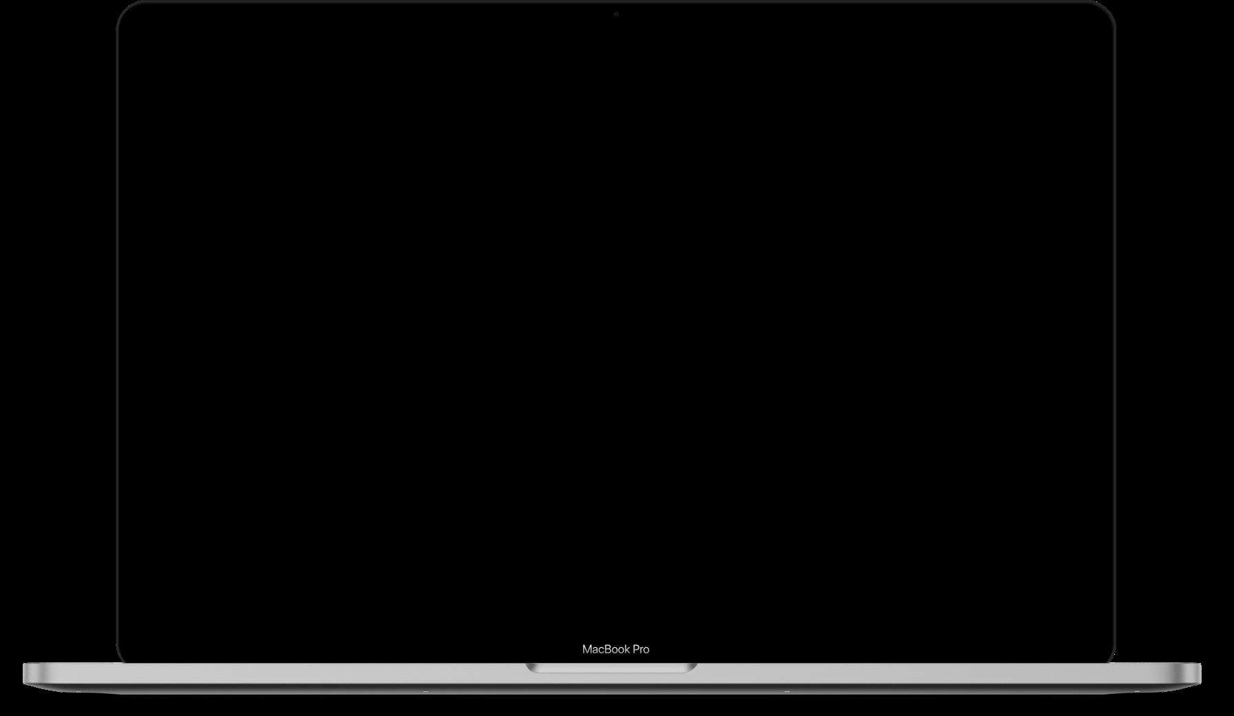 Macbook Pro Laptop Opened Up