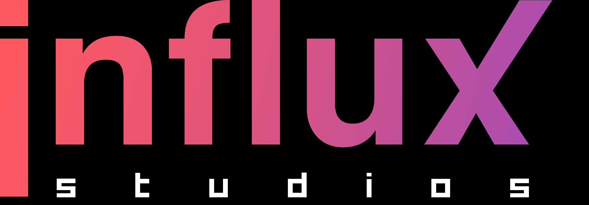 Influx Studios Gradient Main Logo