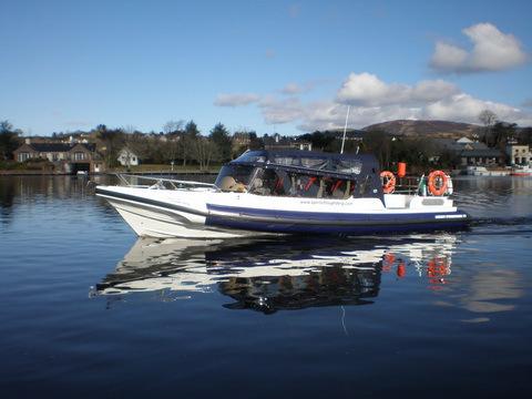 Azul Rib - Enclosed Powerboat
