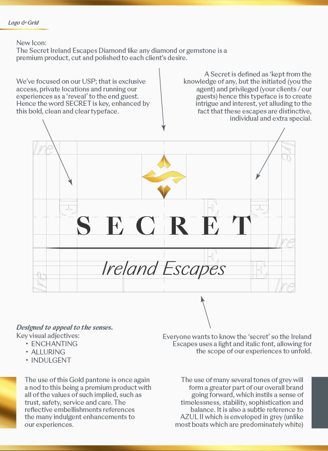 Secret Ireland Escapes - Rebranding
