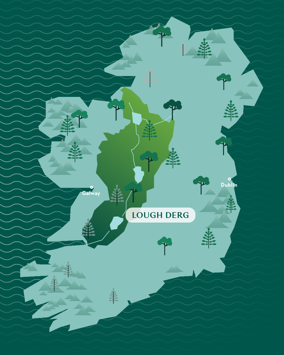 Ireland heartlands map