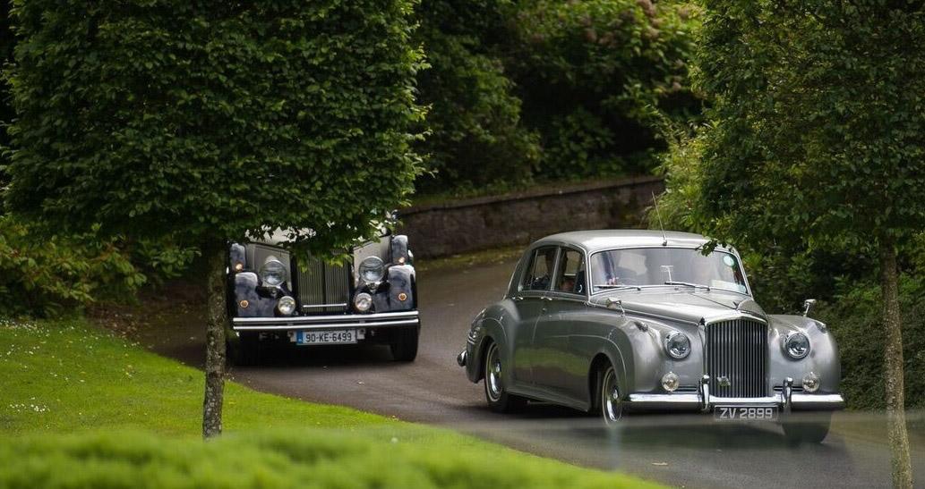 arrive via classic cars