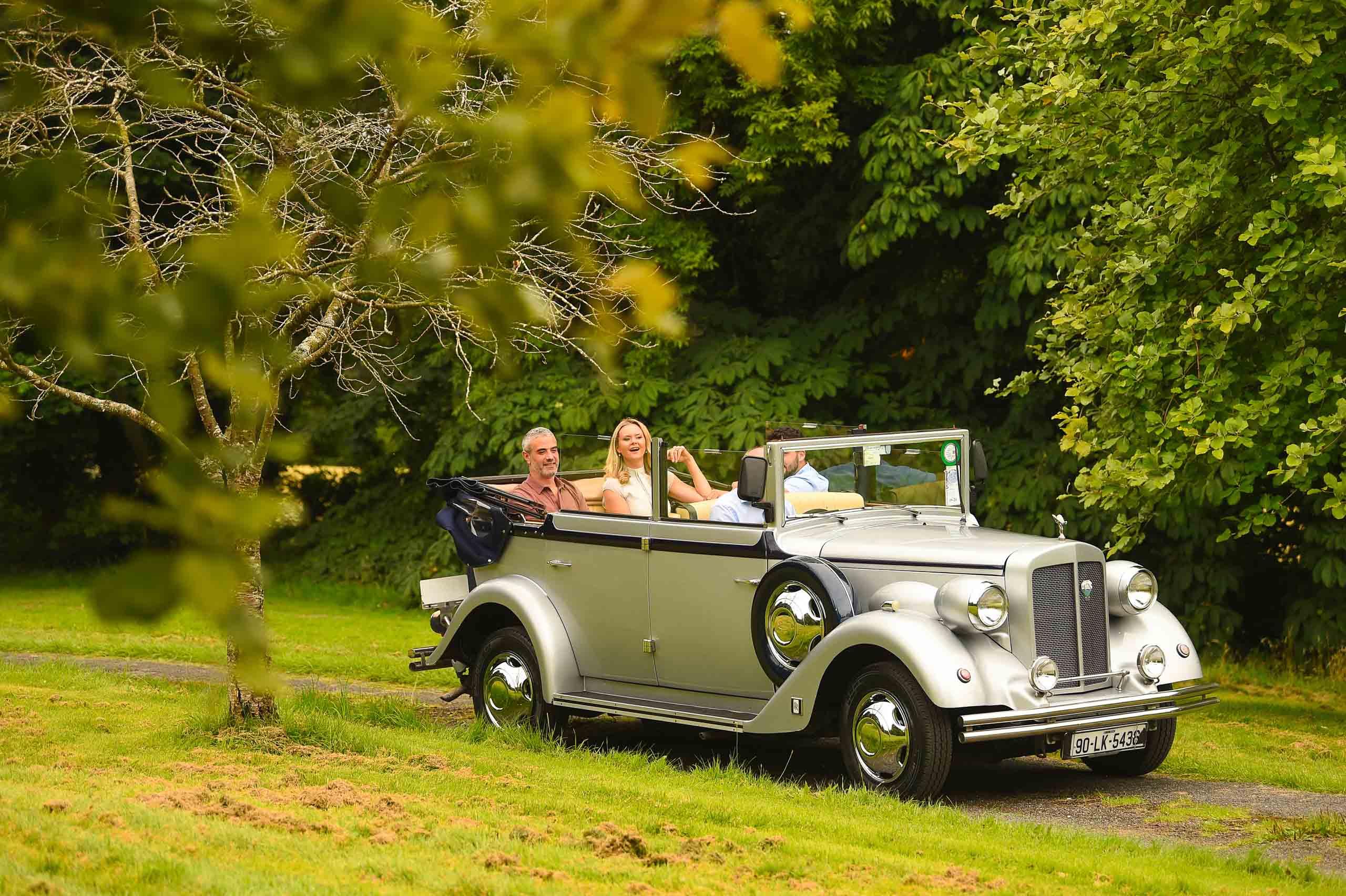 chauffeur driven vintage cars