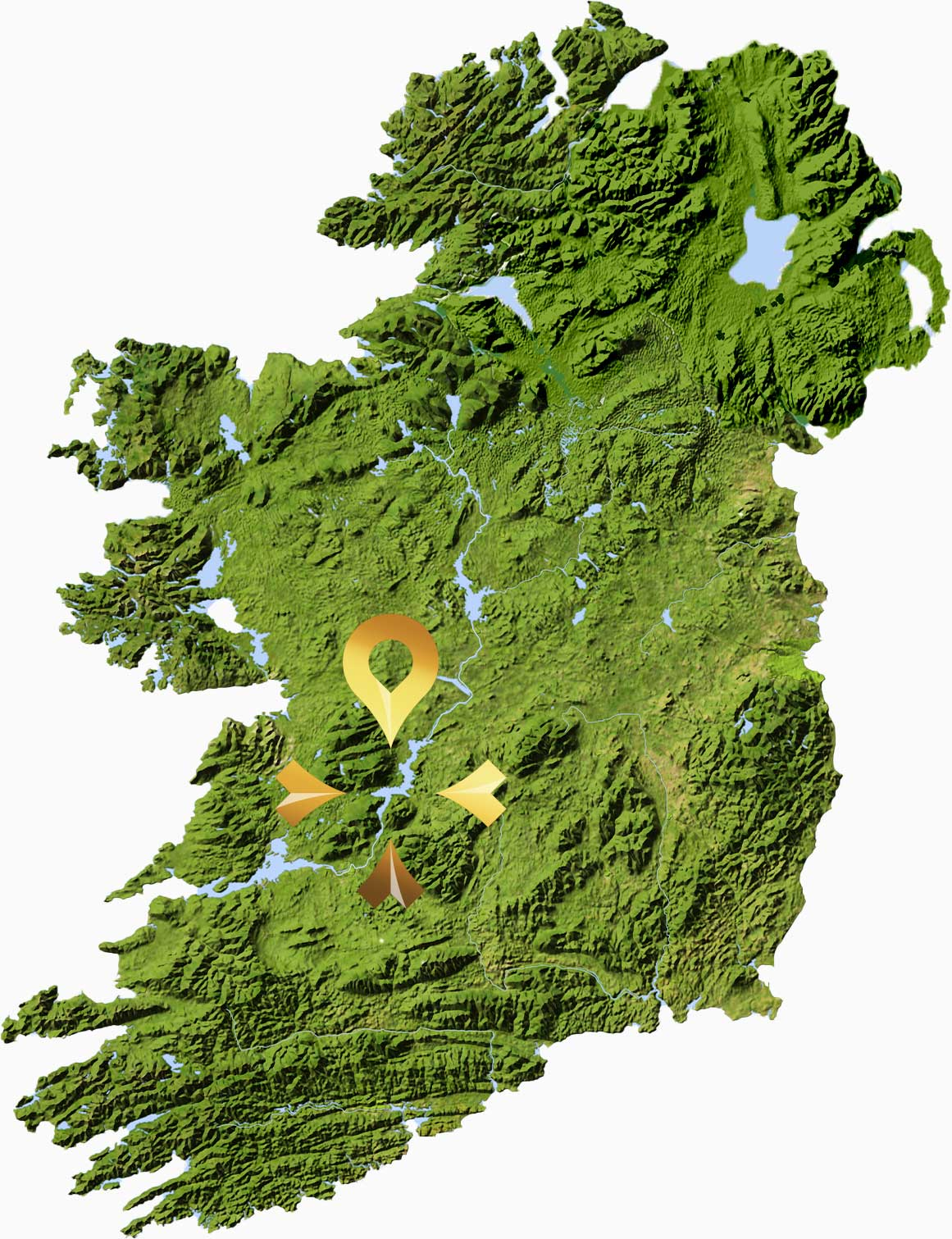 Secret Ireland -  Home Map