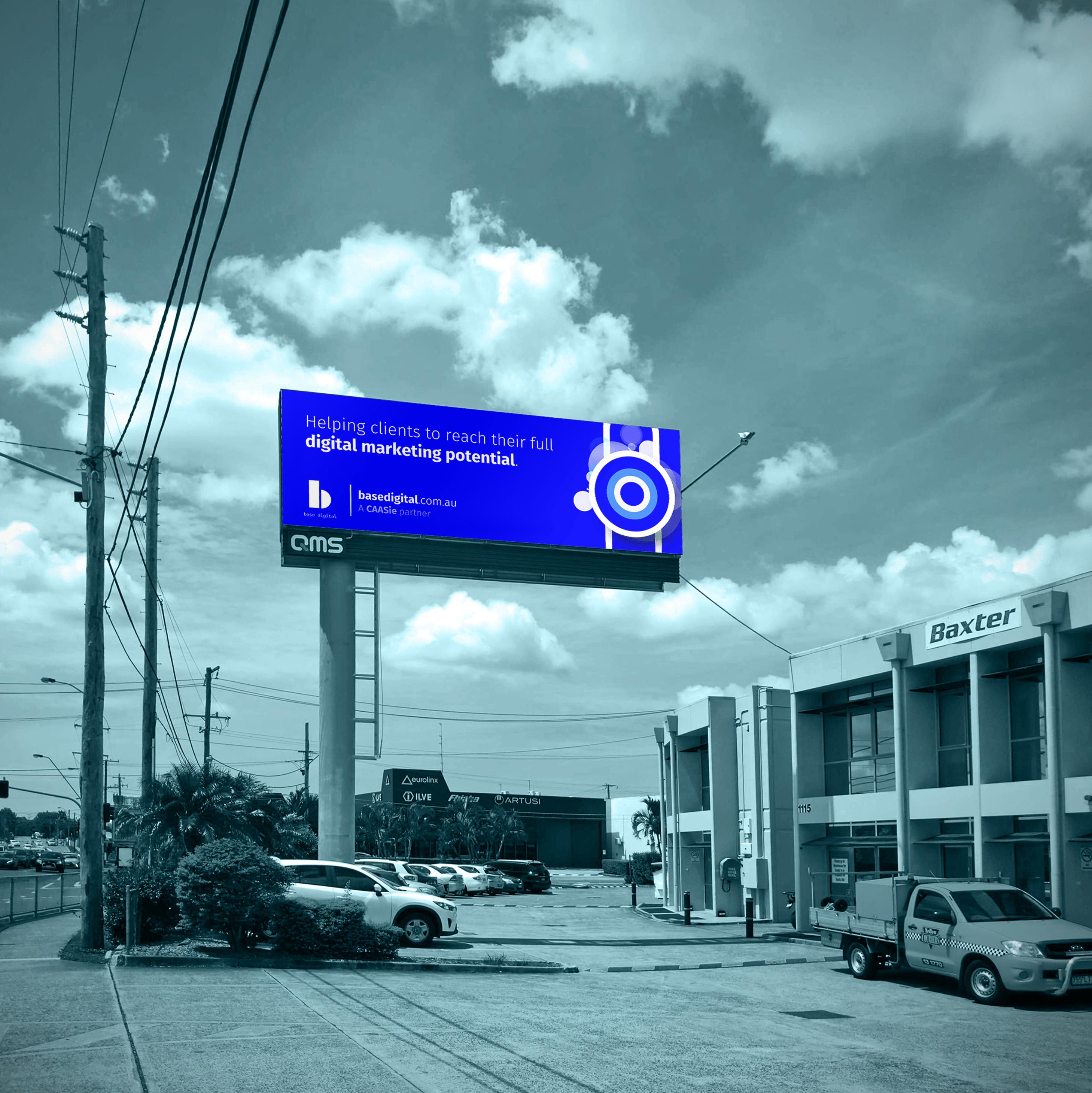 A billboard in Brisbane