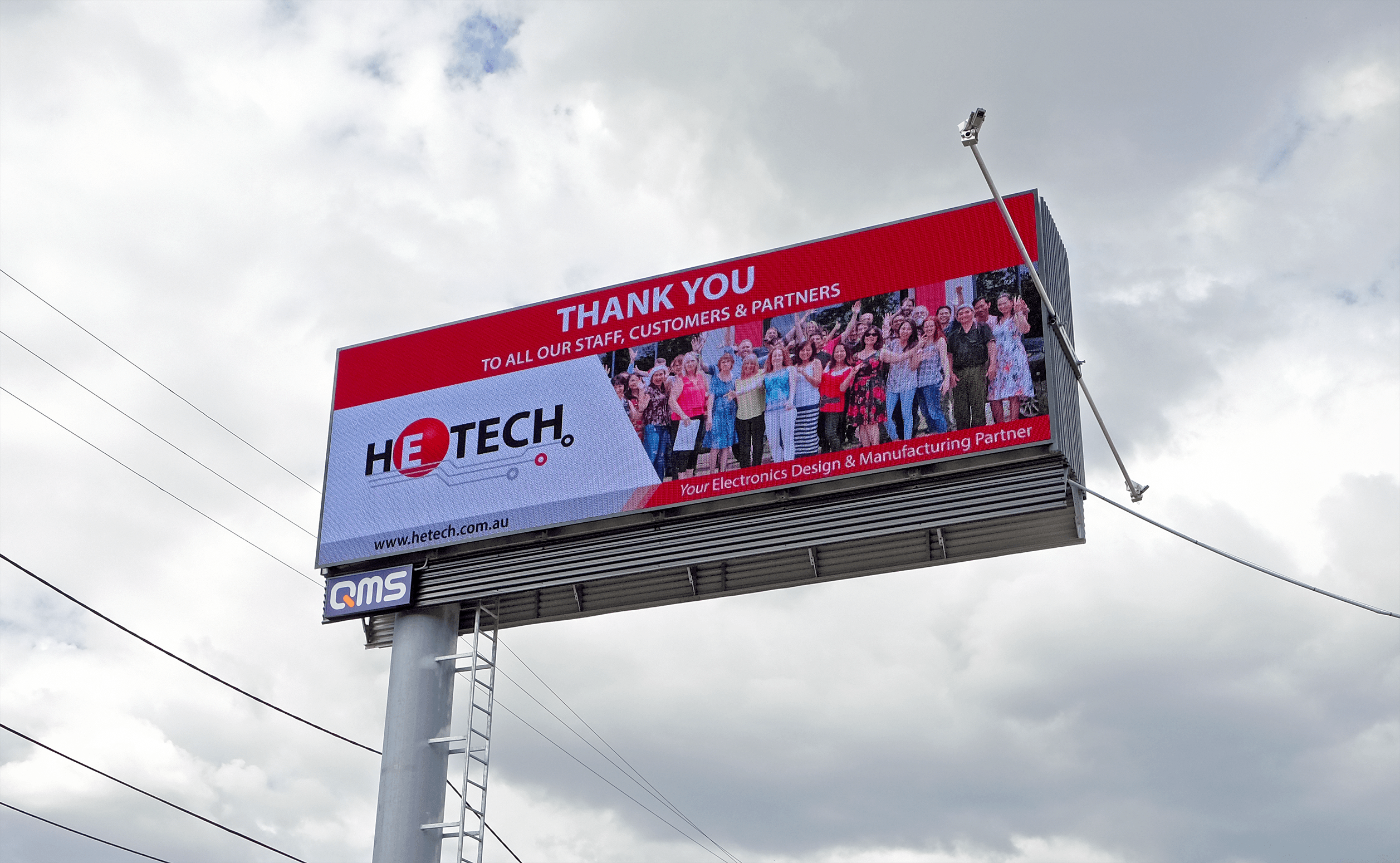 HeTech Gives Thanks With Billboard