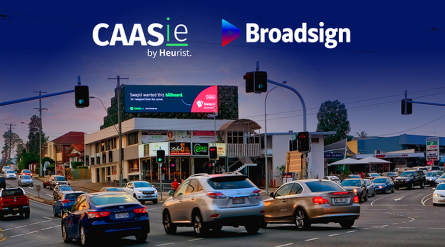 Broadsign Partners with Brisbane start-up CAASie.co