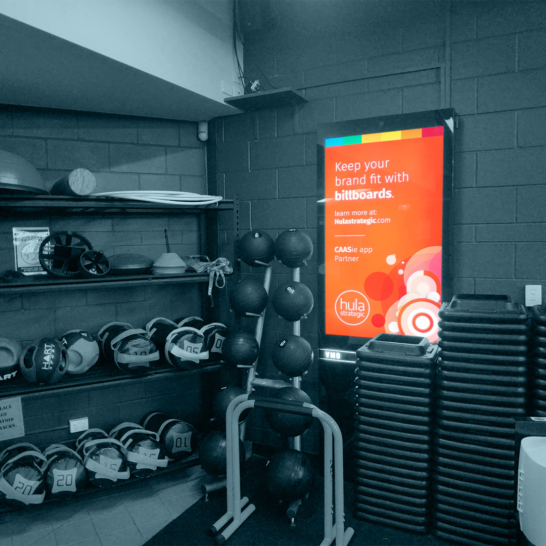 How To Advertise In Gyms - Utilising Australia's Gym Networks to Build Your Brand.