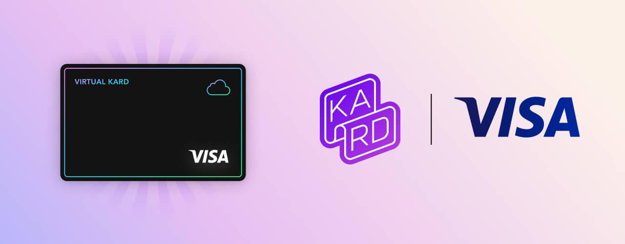 Ta nouvelle virtuelle Kard VISA