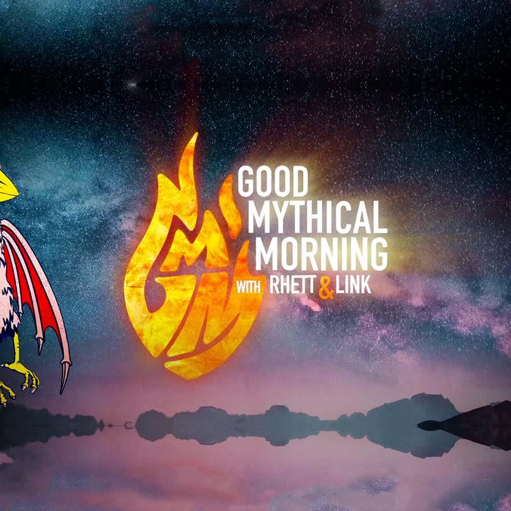 Good Mythical Morning Logo - Rhett and Link