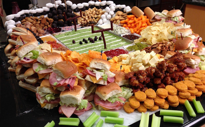Super Bowl Feast