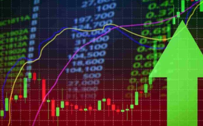 Stock Ticker Going Up