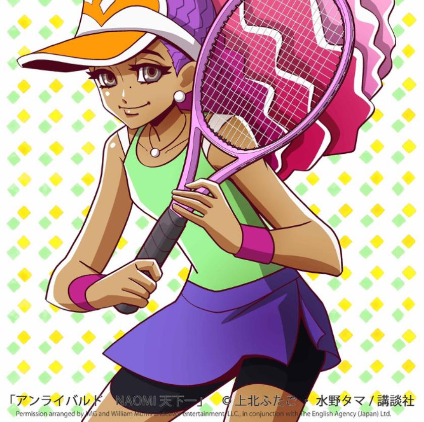 Naomi Osaka Anime Character