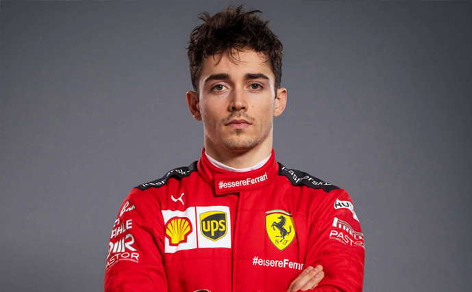 Formula 1 Racer - Charles Leclerc