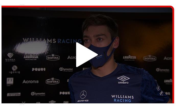 Formula1.com Article: Russell, predicts 'yo-yo' 2021 for Williams
