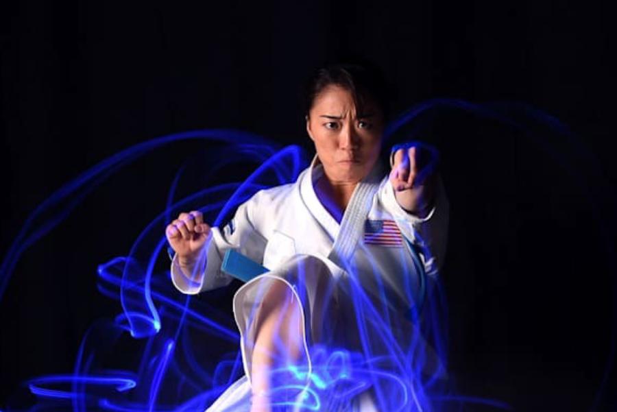 Sakura Kokumai, a U.S. Olympic hopeful