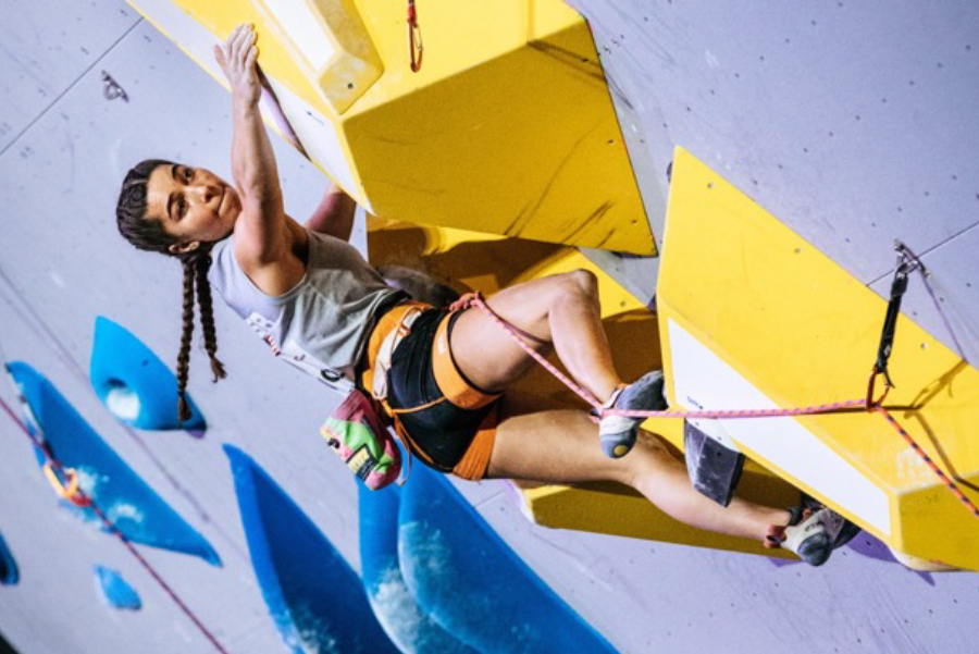Brooke Raboutou has a climbing gene pool pedigree extraordinaire, as they say in French