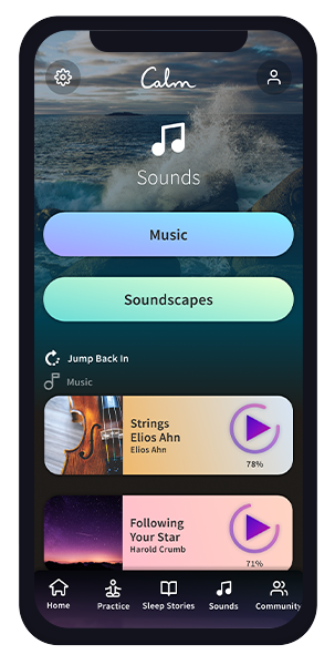 'Sounds' Section