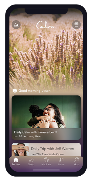 Calm Current Homepage Scroll 1