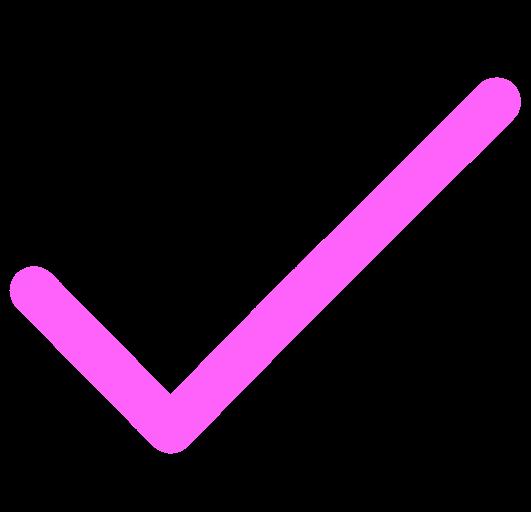 rose checkmark