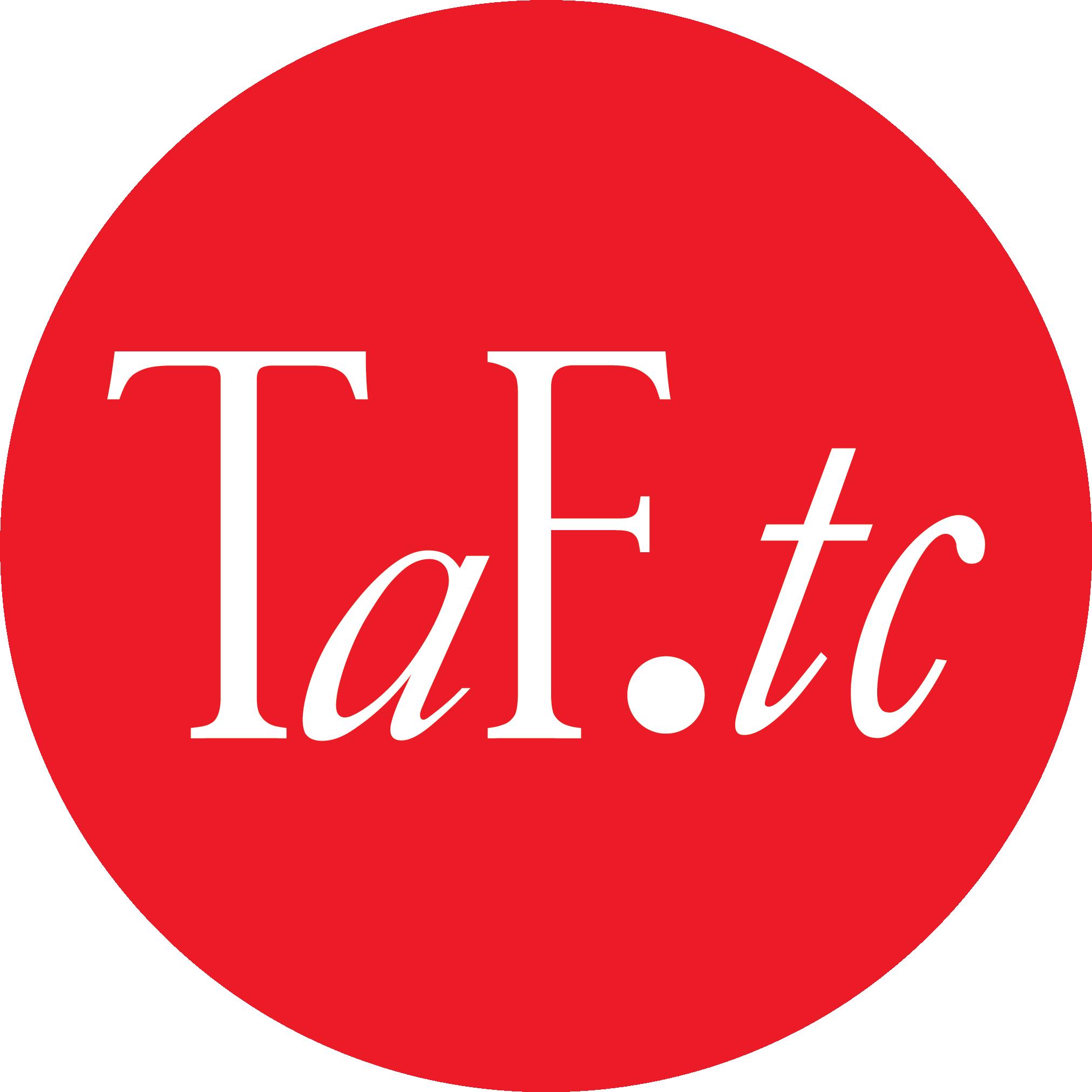 TaF.tc logo