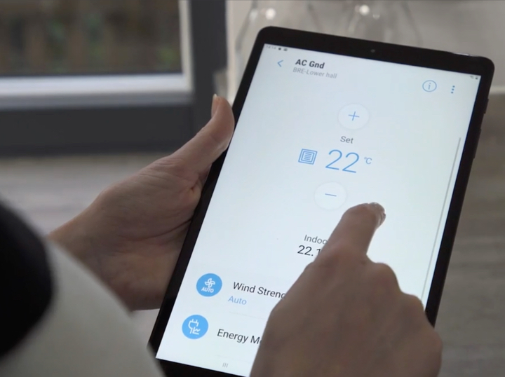 tablet in hand - project etopia
