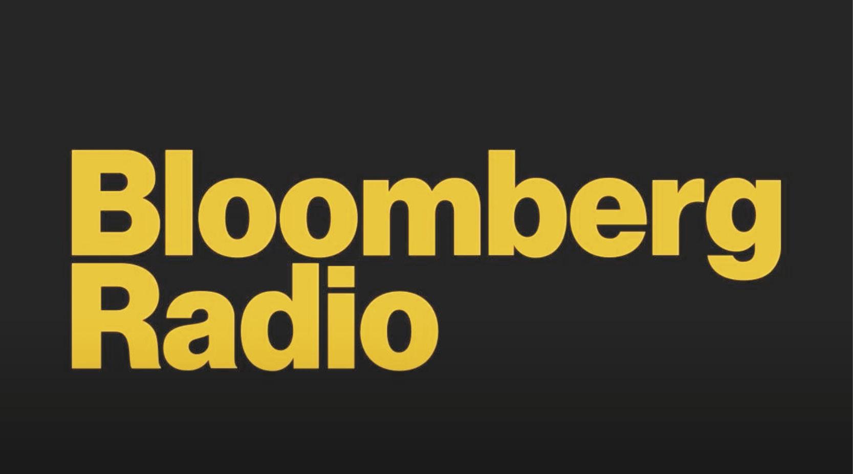 Speaking to Bloomberg LP Radio