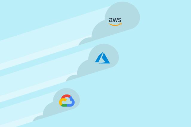 Google is growing fast, Microsoft exceeds expectations, AWS is still the biggest.