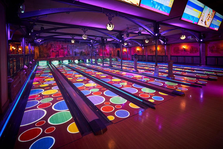 Interactive bowlingbanen