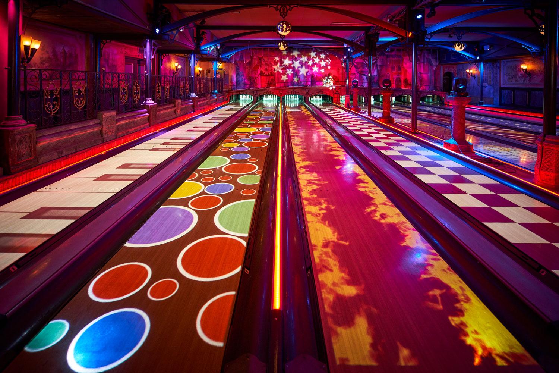 Interactive bowling baan Merlijn