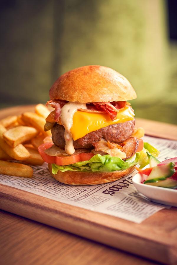 Hamburger bij Merlijn