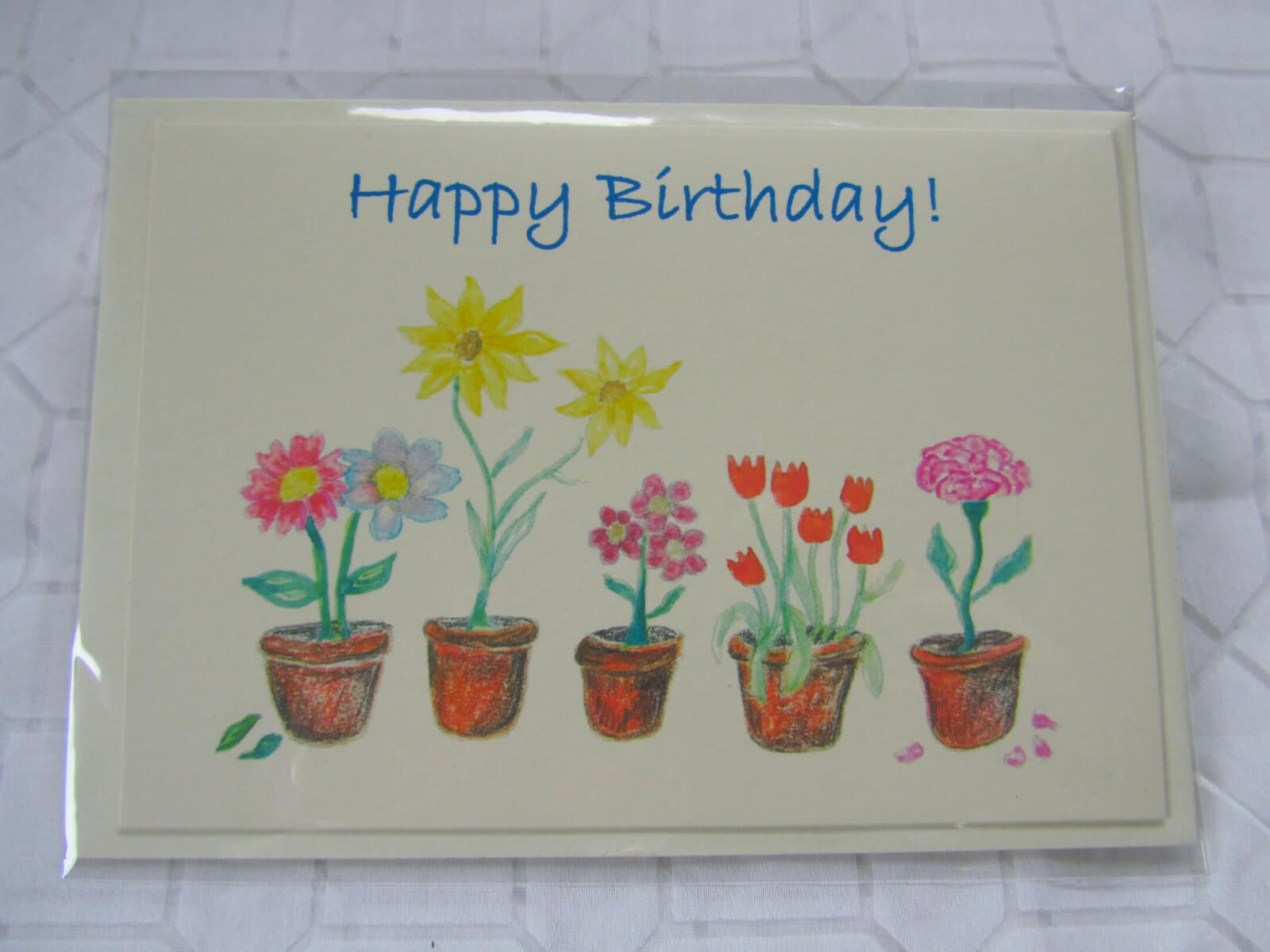 Flower Pot Birthday