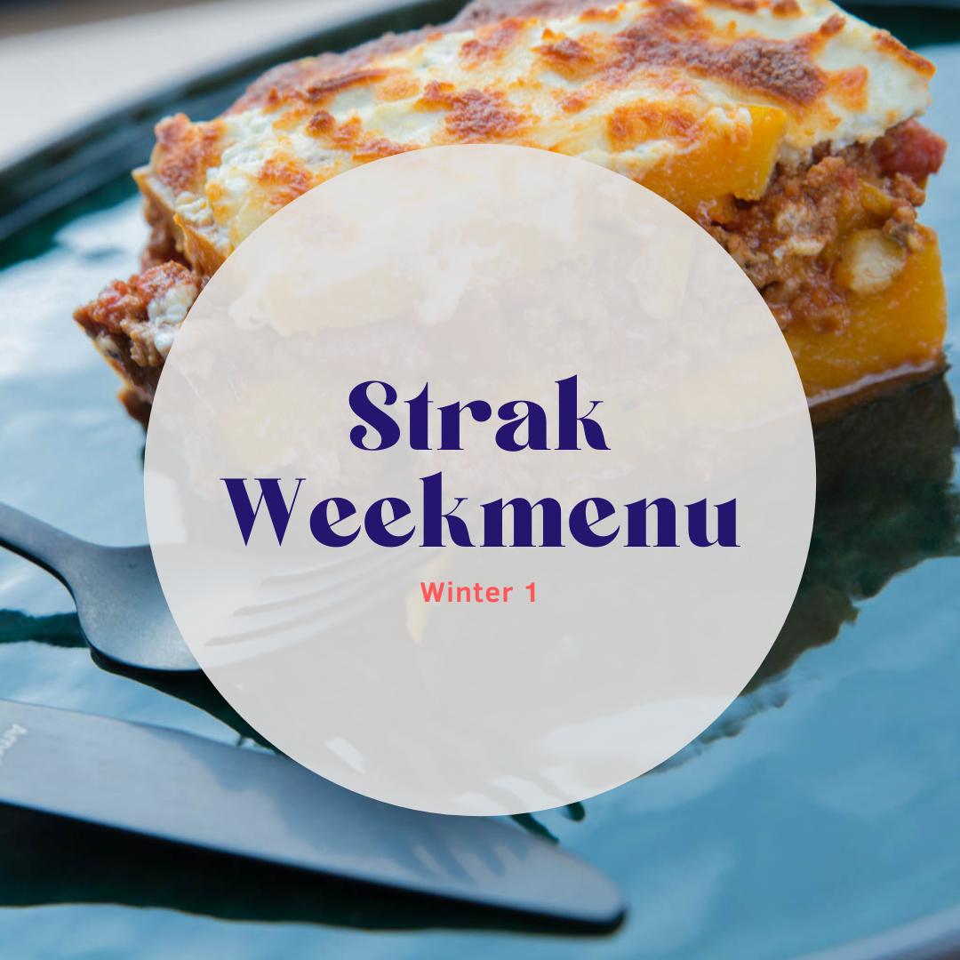 Strak Weekmenu - winter 1