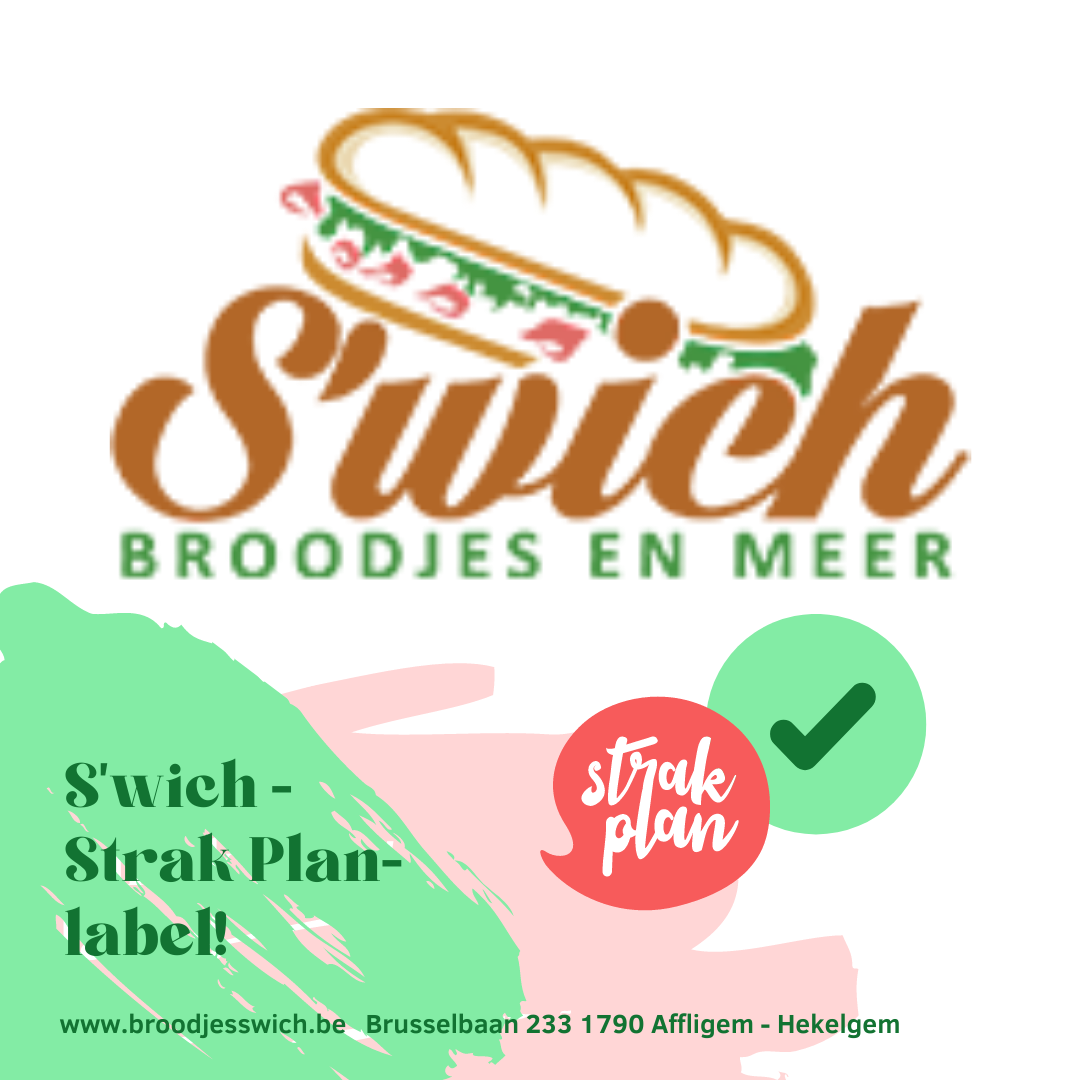 'Strak Planneke' verkrijgbaar bij Broodjes S'wich - Affligem
