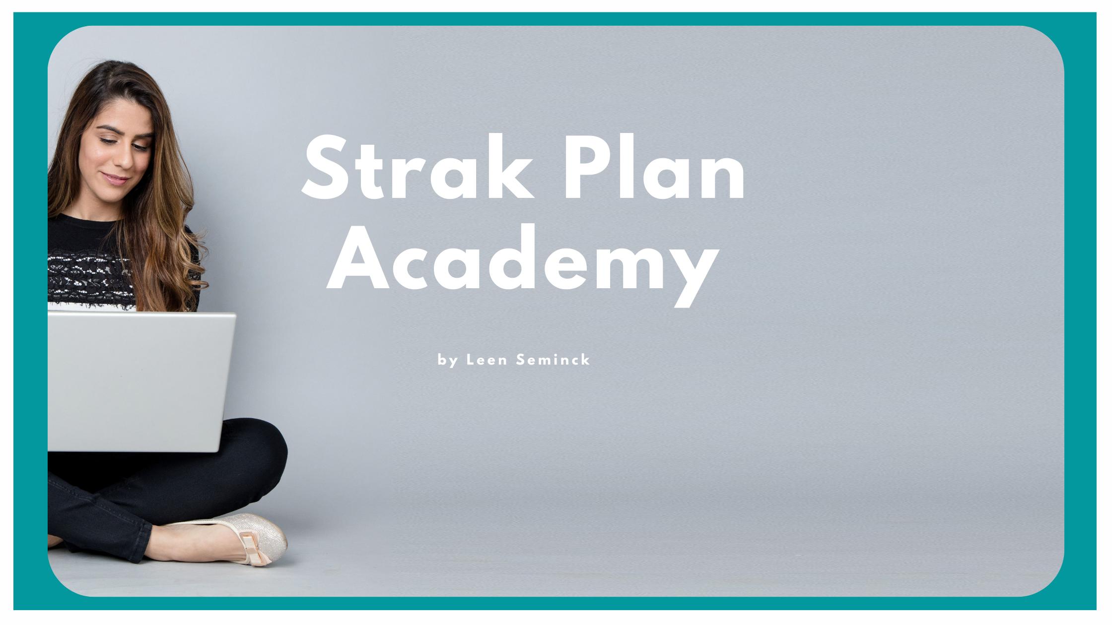 De Strak Plan Academy