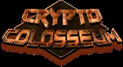 Crypto Colosseum logo, a platform to battle for NFT (a non fungible coin)