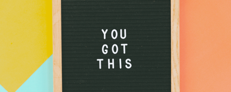 you got this letter board