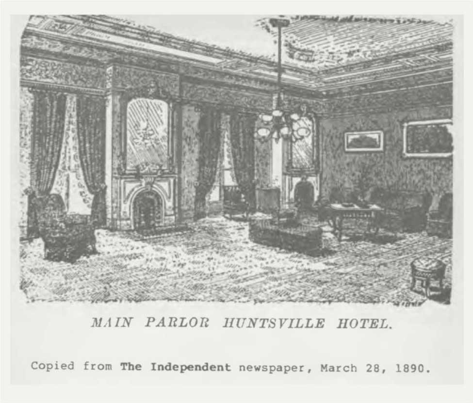 historical photo of Huntsville Hotel