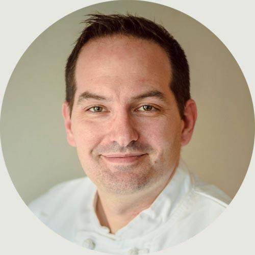 headshot of Executive Chef, Matthew Mohler