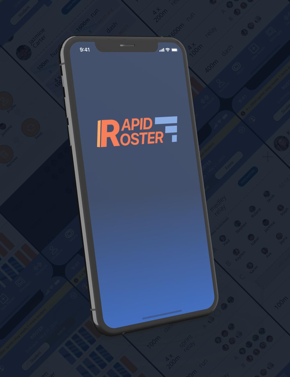 Rapid Roster splash screen