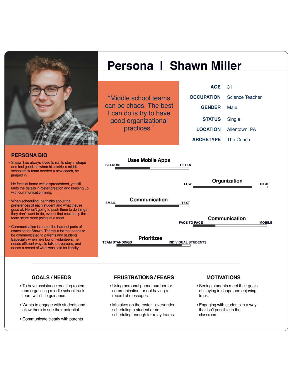 Persona | Shawn