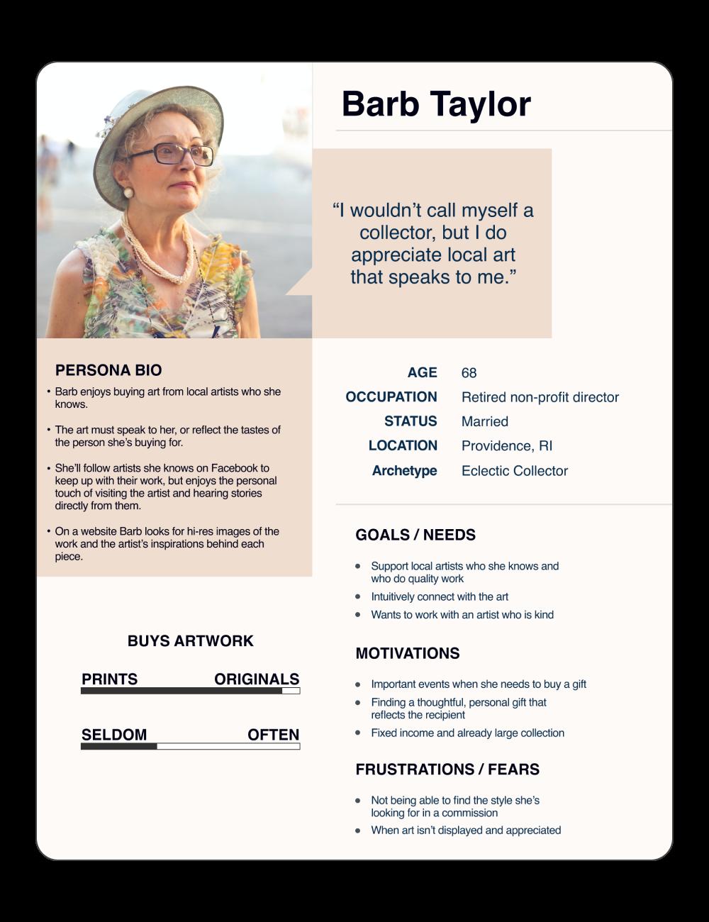 Persona | Barb